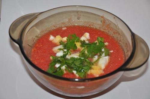 Гаспачо (холодний томатний суп)