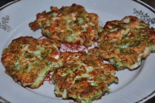 Курячі котлетки з броколі