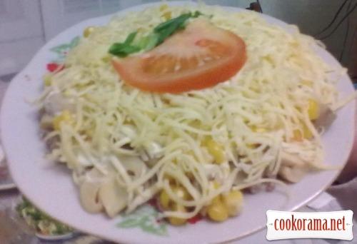 Печінковий салат