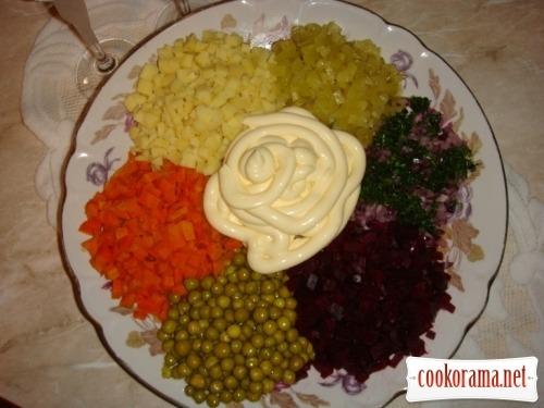 Салат «Квіточка-семицвітна»