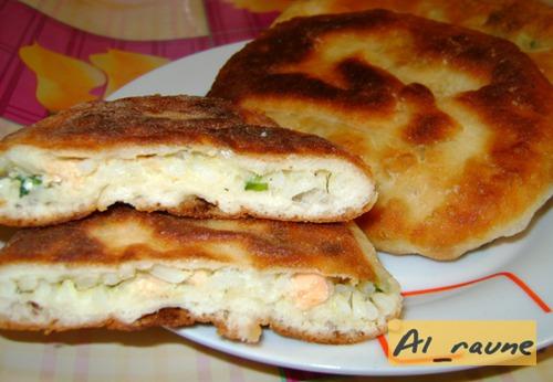 Пирожки с семгой и рисом:)