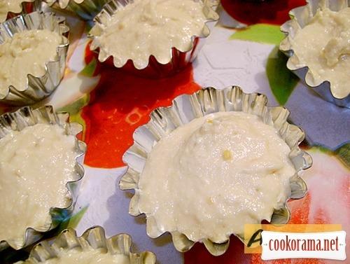 Цитрусовые кексы с тыквой на манке!