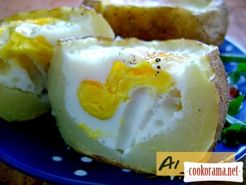 Запеченный картофель «2в1»
