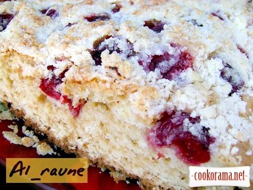 Большой, воздушный и вкусный пирог «Графиня Вишенка»