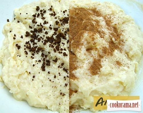 Корично-кофейное печенье «Пасхальные кролики»