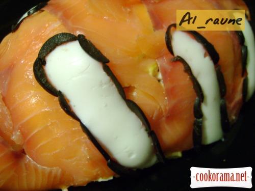 Салат с морепродуктами «В гостях у Немо»:)