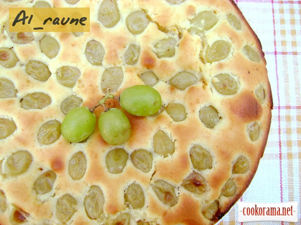 """Виноградный пирог на оливковом масле """"Вива, Италия!"""""""