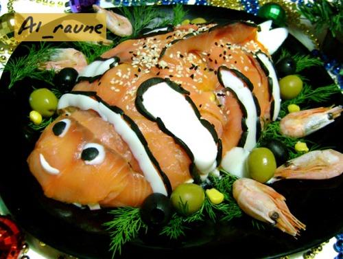 """Салат з морепродуктами """"В гостях у Немо"""" :)"""