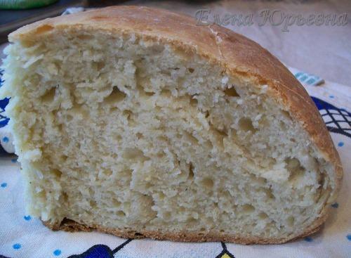 Хлеб домашний подовый со специями