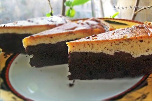 Торт крем-карамель