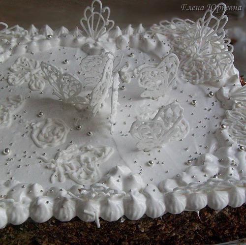 Фасолевый торт
