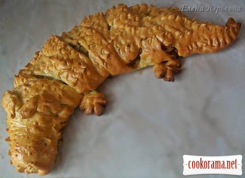 Крокодил з тіста
