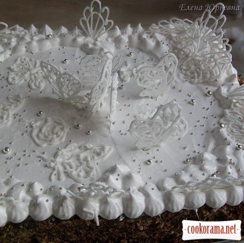Квасоляний торт