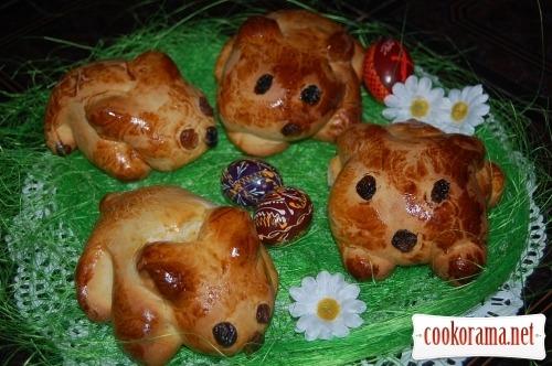 Готуємося до Великодня - Медові Кролики