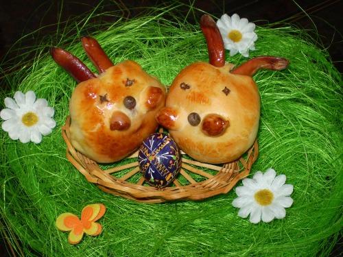 Готуємось до Великодня - Капустяні зайчики