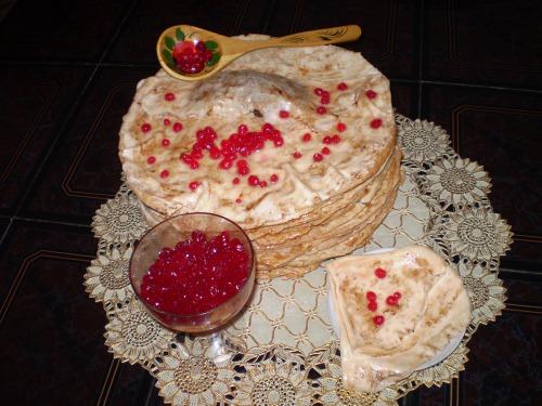 """Торт """"Блины с икрой"""""""