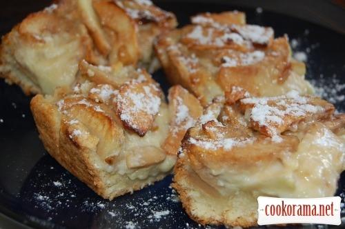 Цвєтаєвський яблучний пиріг
