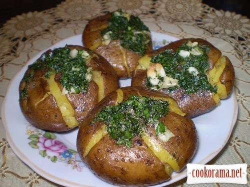 «Придушена» картопелька