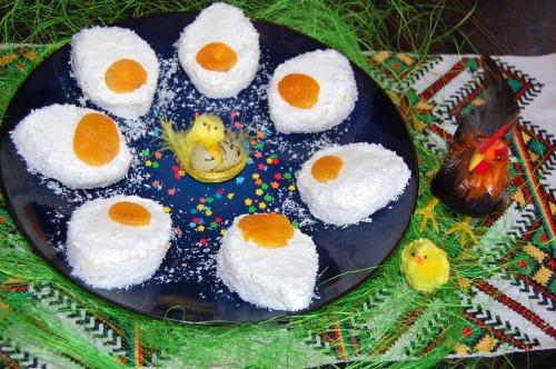 """Тістечка """"Великодні яєчка"""""""