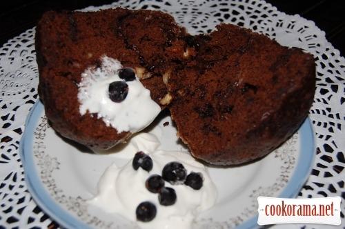 Шоколадний торт за 5 хвилин, або торт в кружці, або небезпечний тортик