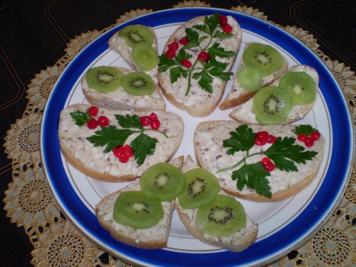 Ореховый бутерброд