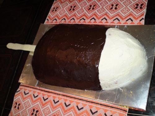 """Торт """"Пломбір в шоколаді"""""""