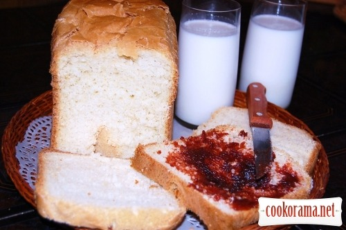 Перший хліб з призової хлібопічки