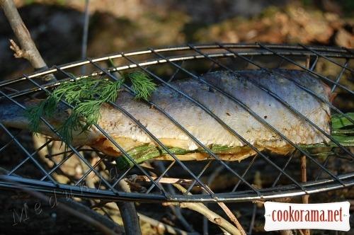 Печеная рыба