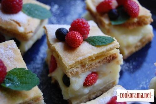 Пирог «Ягодная заварнушка»