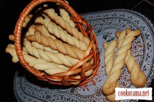Витое масляное печенье