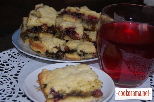 Cookies «with grass», ie sorrel
