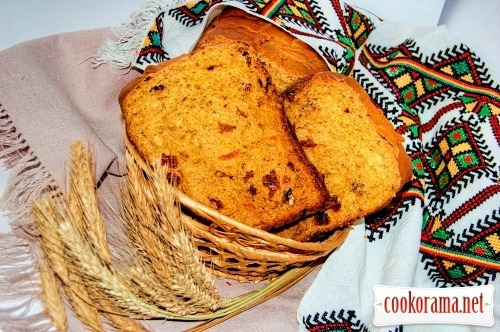 Гарбузовий хліб «Руде сонечко»