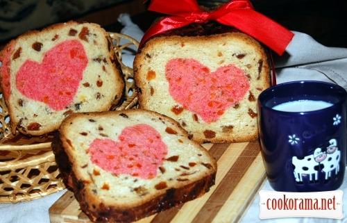 Десертный хлеб «МЕЛОДИЯ СЕРДЦА»