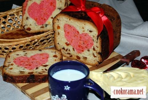 Десертний хліб «МЕЛОДІЯ СЕРЦЯ»