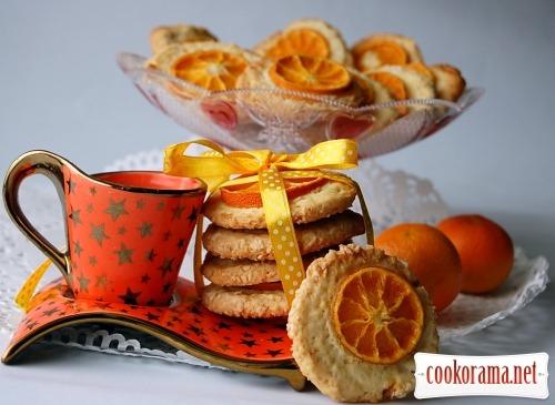 Печиво «Мандаринові віконця»