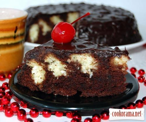 Торт «Коровка в шоколаде»