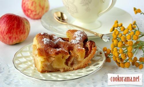 Пиріг «Яблука в перині»