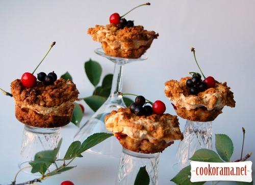 Пирожные «Кучерявый Ванечка»