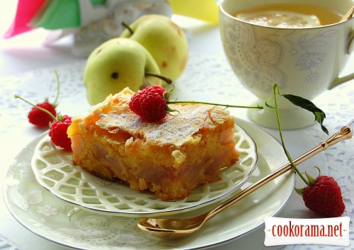 Пирог «Яблоки в перине-2»