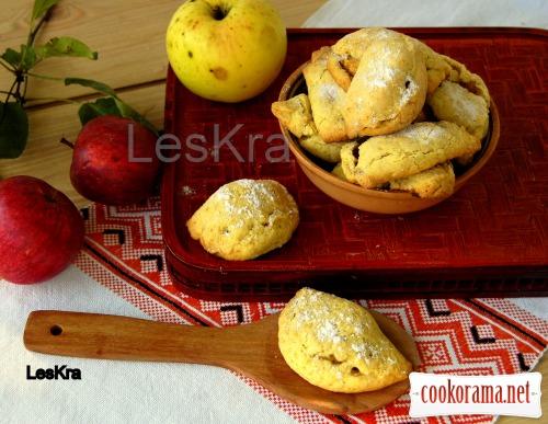 Печиво «Вареники з яблуками»