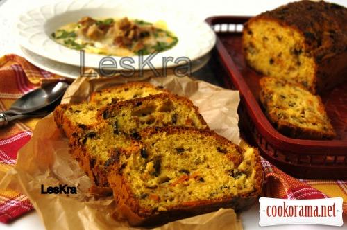 Осінній пряний овочевий хліб