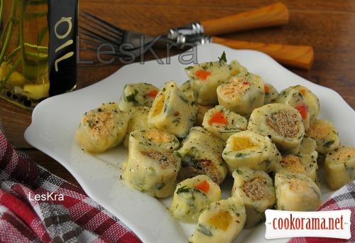 Картофельные клецки «Калейдоскоп» для Маши
