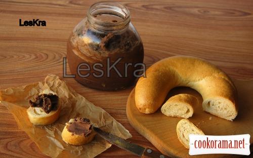 Полезная шоколадно-ореховая паста