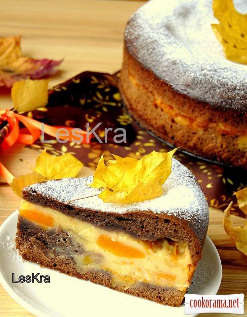 Пирог «Осень в пудинге»