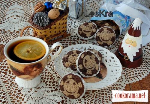 Новорічно-Різдвяне печиво «Сніжинка»