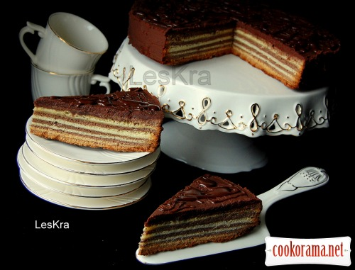 «Поцарапанный» торт