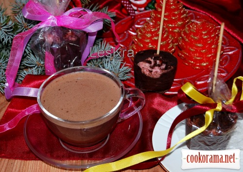 Гарячий шоколад на паличці