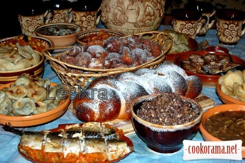 Святвечірні страви