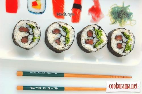 Кадзари суши «Японская вишня»