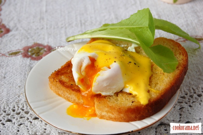 Яйце-пашот - без проблем
